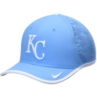 Kansas City Royals Nike Vapor Classic Performance Adjustable Hat - Light Blue - OSFA
