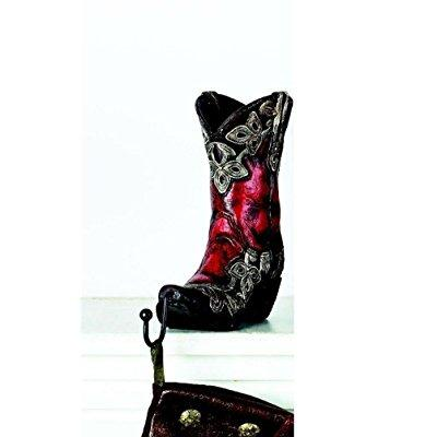 burton and burton cowboy boots christmas stocking holder,...
