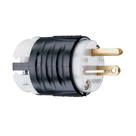 Pass & Seymour - PS5366X - Straight Blade Plug - 2pole - 3wire - 20amp - 125v - Extra Hard Use 50a 125v Straight Adapter