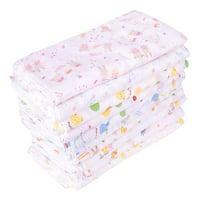 Fancyleo 3PCS Baby Bib Cotton Gauze Baby Square Scarf Saliva Towel Girl Handkerchief