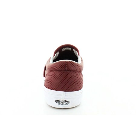 2d54006b35 Vans Unisex Men s Classic Slip On Perf Leather Skate Shoes-Port Perf Leather  Image