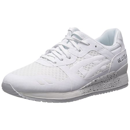 newest collection 8b90d 688fc ASICS H618N-0101: GEL Lyte III NS White White Retro Running Shoes (5 D(M)  US Men, White White)
