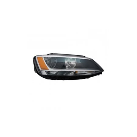 Replacement Passenger Side Headlight For 11-15 Volkswagen Jetta 5C7941006