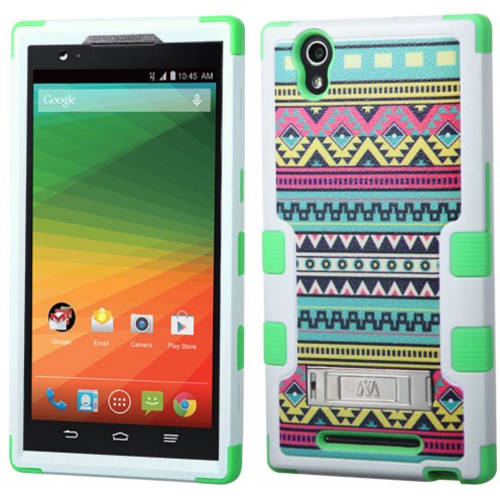 ZTE Z970 ZMax MyBat TUFF Hybrid Protector Cover with Stand
