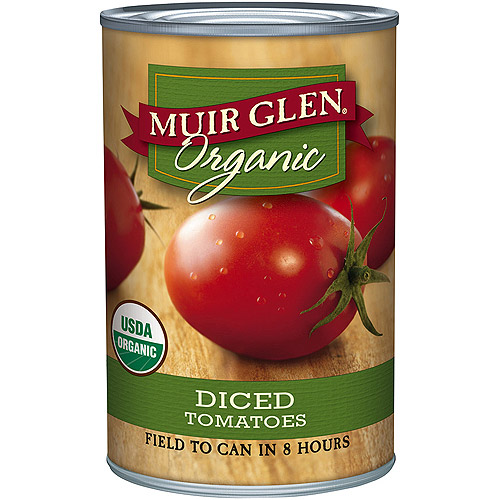 Muir Glen Stewed Tomatoes, 14.5 oz (Pack of 6)