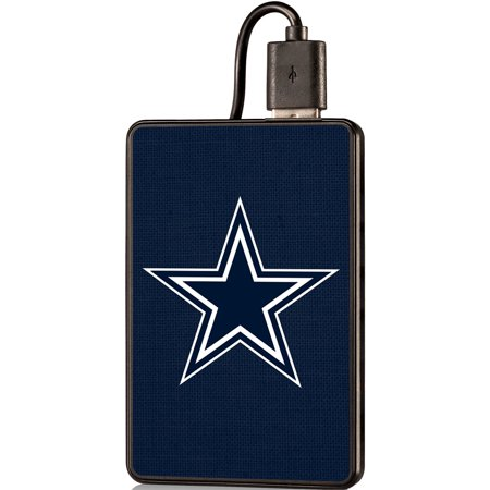 Dallas Cowboys Solid 2000 mAh Credit Card Powerbank - No (Dallas Cowboys Credit Card)