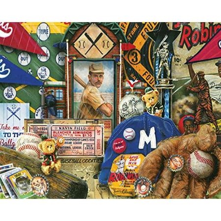 Vintage Baseball 1000 Piece Jigsaw Puzzle ()