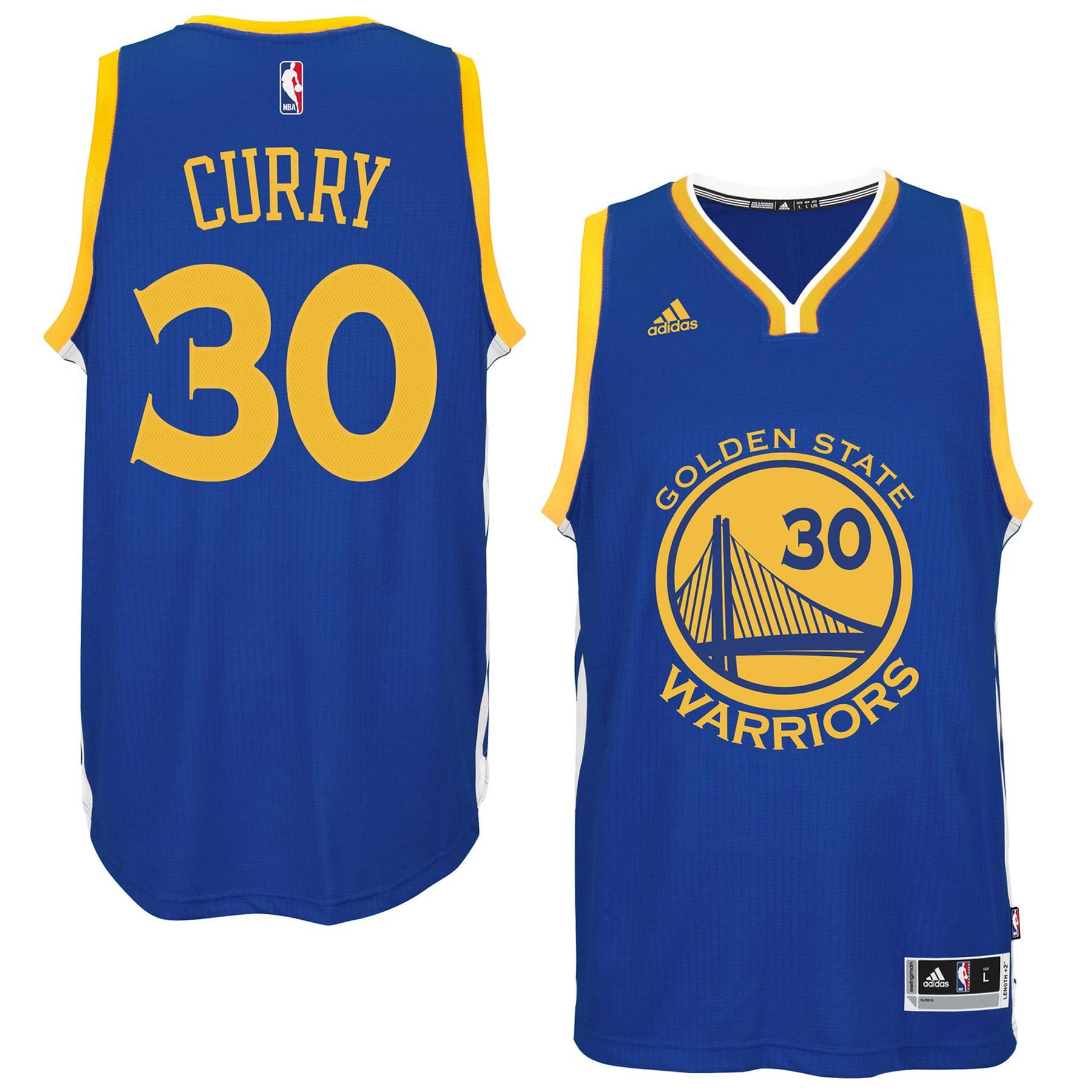 reputable site f7e66 757d1 Stephen Curry Golden State Warriors NBA Swingman Road ...