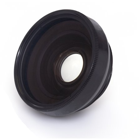 0.43x High Grade (Black) Wide Angle Conversion Lens For Sony Cyber-shot DSC-WX500 (Includes Lens (Sony Cyber Shot Wide Angle)