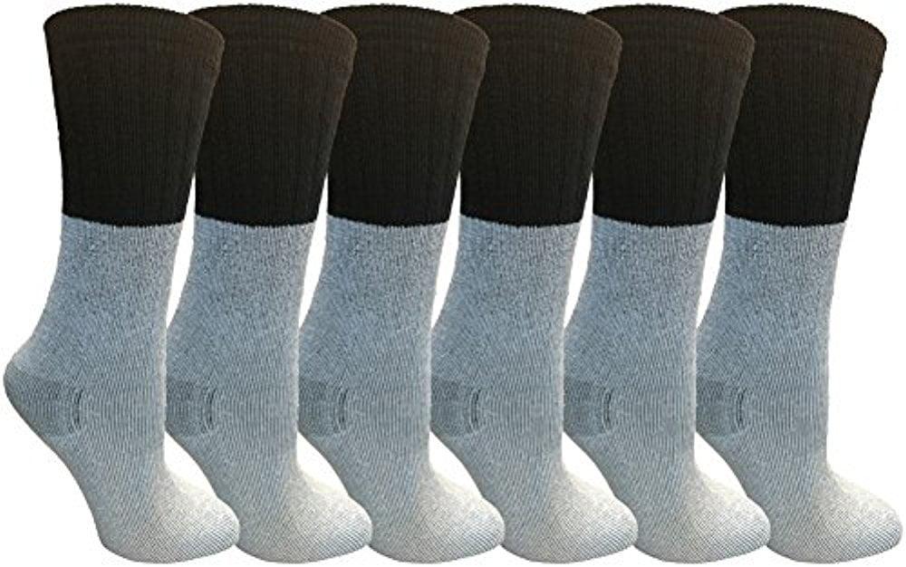 6 Pairs Merino Wool Socks for Women, Hunting Hiking Backpacking Thermal Sock by WSD... by Wholesale Sock Deals
