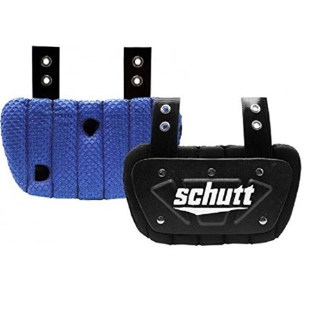 Schutt Youth Back Plate Electric Blue - Cheap Football Back Plate