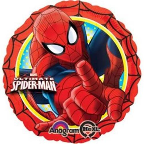 """""""Ultimate Spiderman Action 17"""""""" Foil Balloon (Each) - Party Supplies"""""""