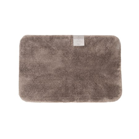 Hotel luxury reserve collection bath rug 24 x 36 fossil for Hotel collection bathroom rugs