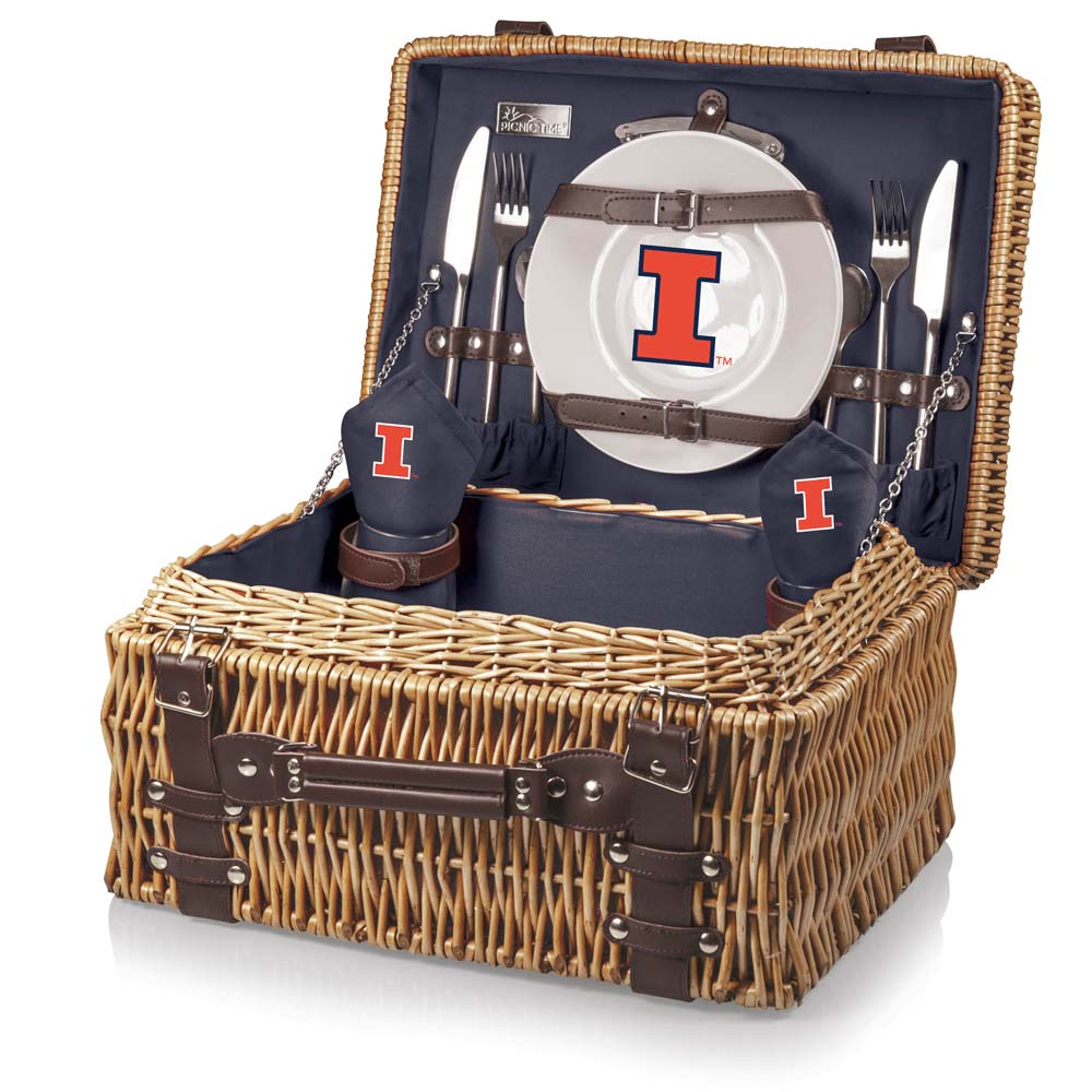 Illinois Champion Basket (Navy)