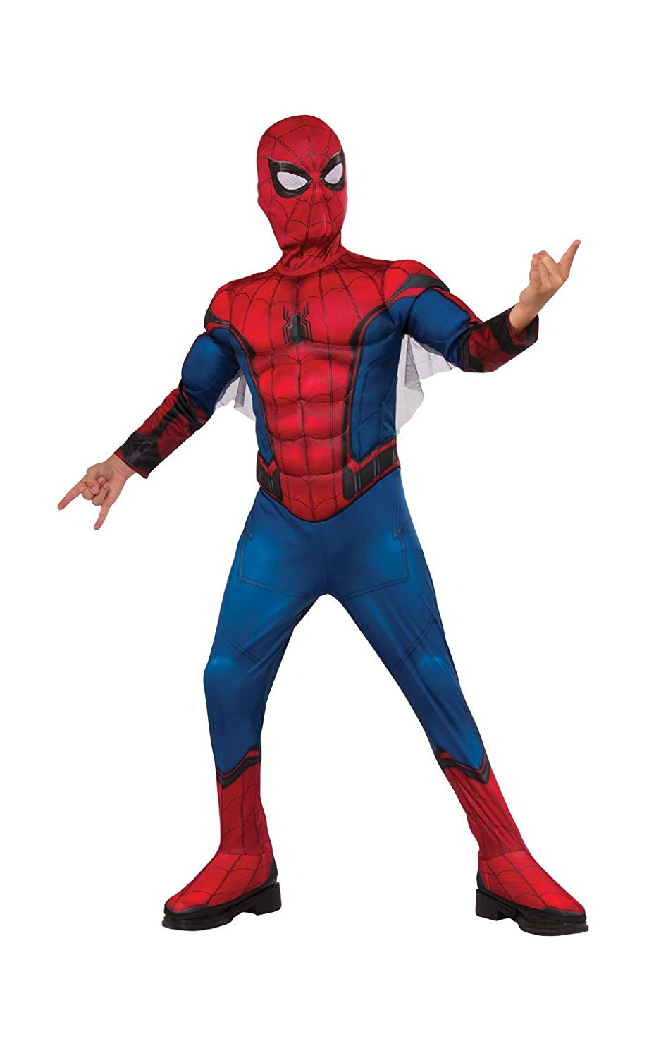 Rubies Child Spiderman Homecoming Muscle Chest Costume  sc 1 st  Walmart & Spider-man Costumes
