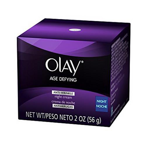 Olay Age Defying Anti-Wrinkle Replenishing Night Cream - 2 Oz, 3 Pack