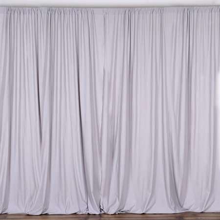 Balsacircle 10 Ft X Polyester Professional Backdrop Curtains