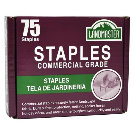Landscape Fabric - Landmaster Fabric & Garden Staples 75pk