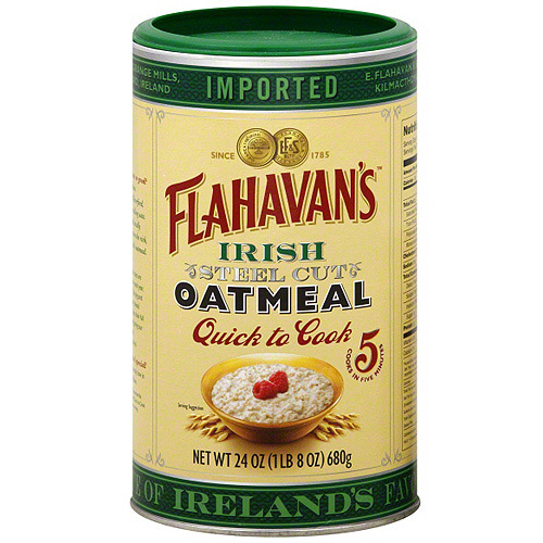 Flahavan's Irish Steel Cut Oatmeal, 24 oz (Pack of 6)
