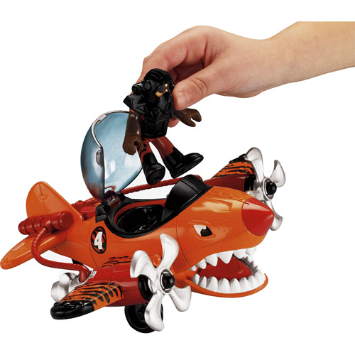 Fisher Price IMaginext Tiger Shark Plane by Fisher-Price