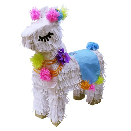 Pinata For Sale (Lutema Peruvian White Llama Pinata Hand Crafted Perfect for all)