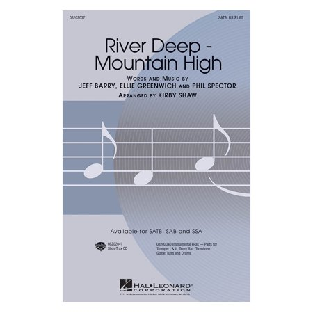 Hal Leonard River Deep - Mountain High SATB by Tina Turner arranged by Kirby Shaw - Tina Turner Dresses For Sale