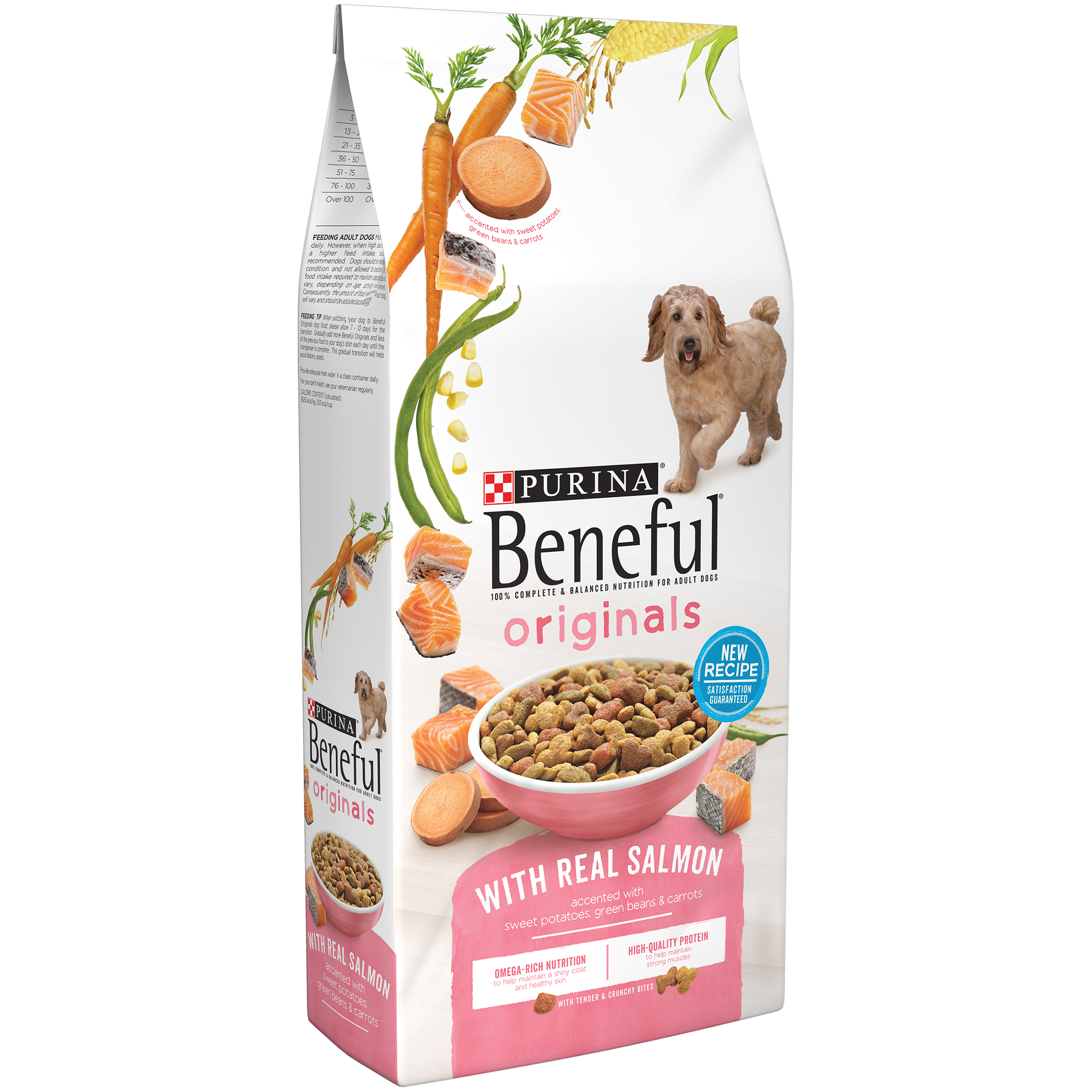 Purina Beneful Originals With Real Salmon Dog Food 31.1 lb. Bag