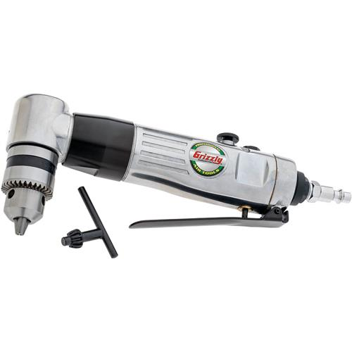 """Grizzly H8217 3/8"""" Reversible Angle Drill"""