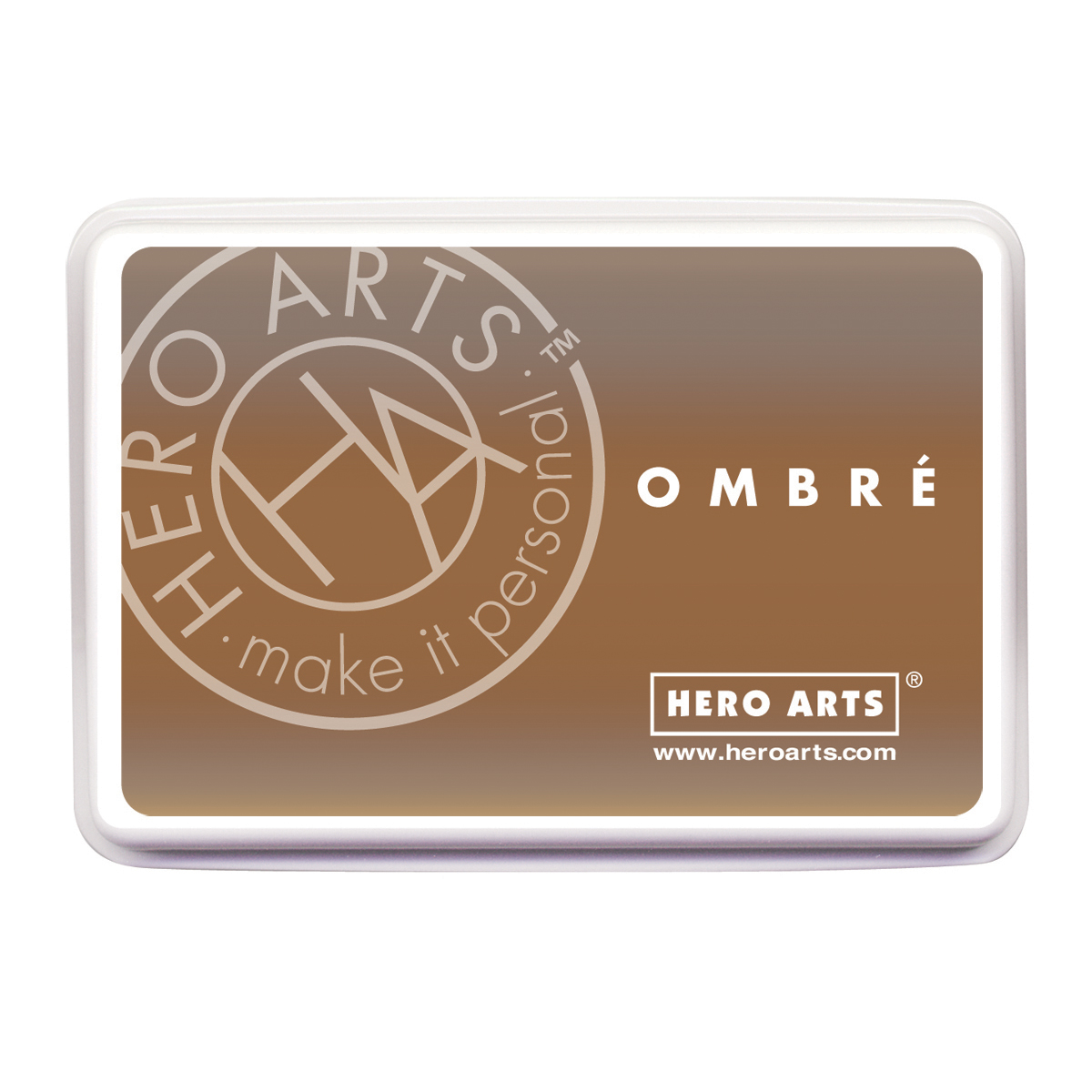 Hero Arts Ombre Ink Pad-Sand To Chocolate Brown - image 1 of 1