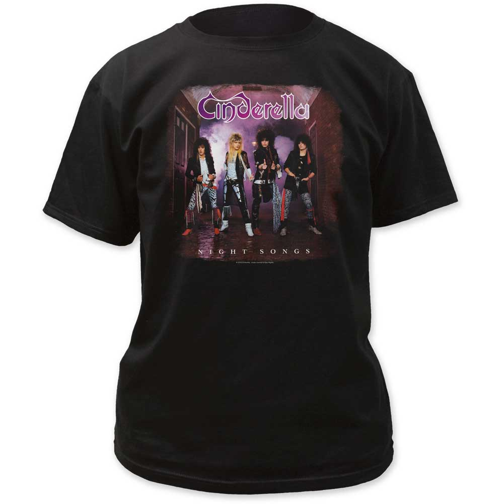 Cinderella - Mens Night Songs Adult T-Shirt
