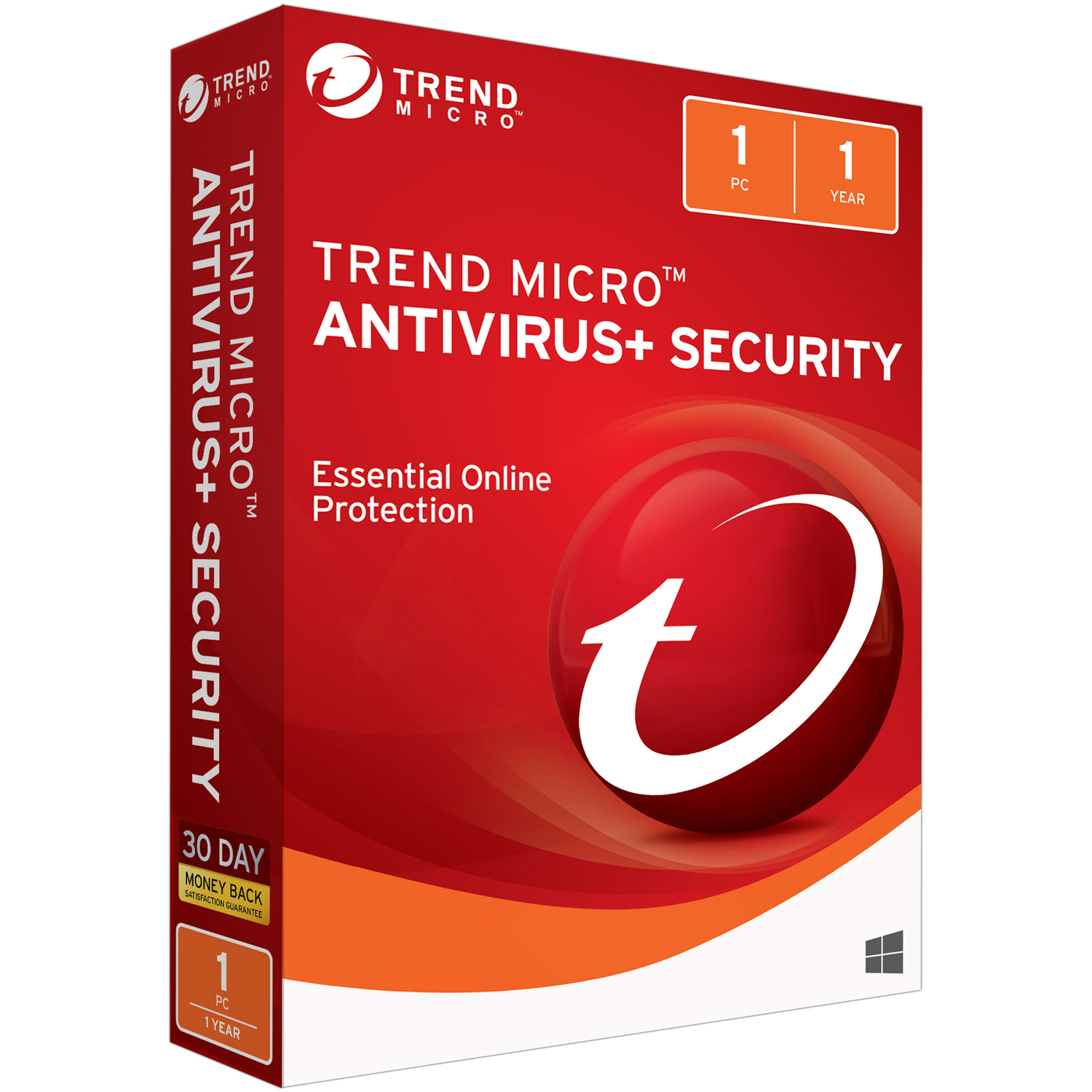 Trend Micro Antivirus + Security 1U 2018