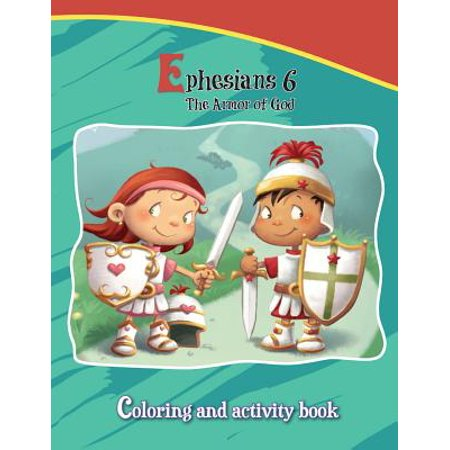 Ephesians 6 Coloring and Activity Book : The Armor of - The Armour Of God
