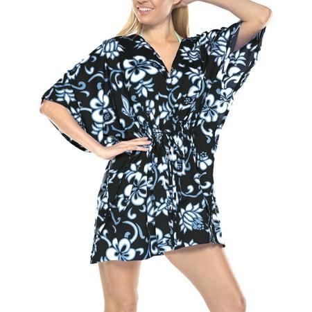 88db347f5c66a Caftan Dress Poncho Bathing Cover ups Beachwear Swimwear Womens Tunic Top -  Walmart.com