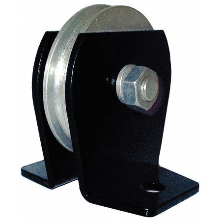 5RRR1 Wire Rope Pulley Block, 1000 lb Load Cap. by ZORO SELECT