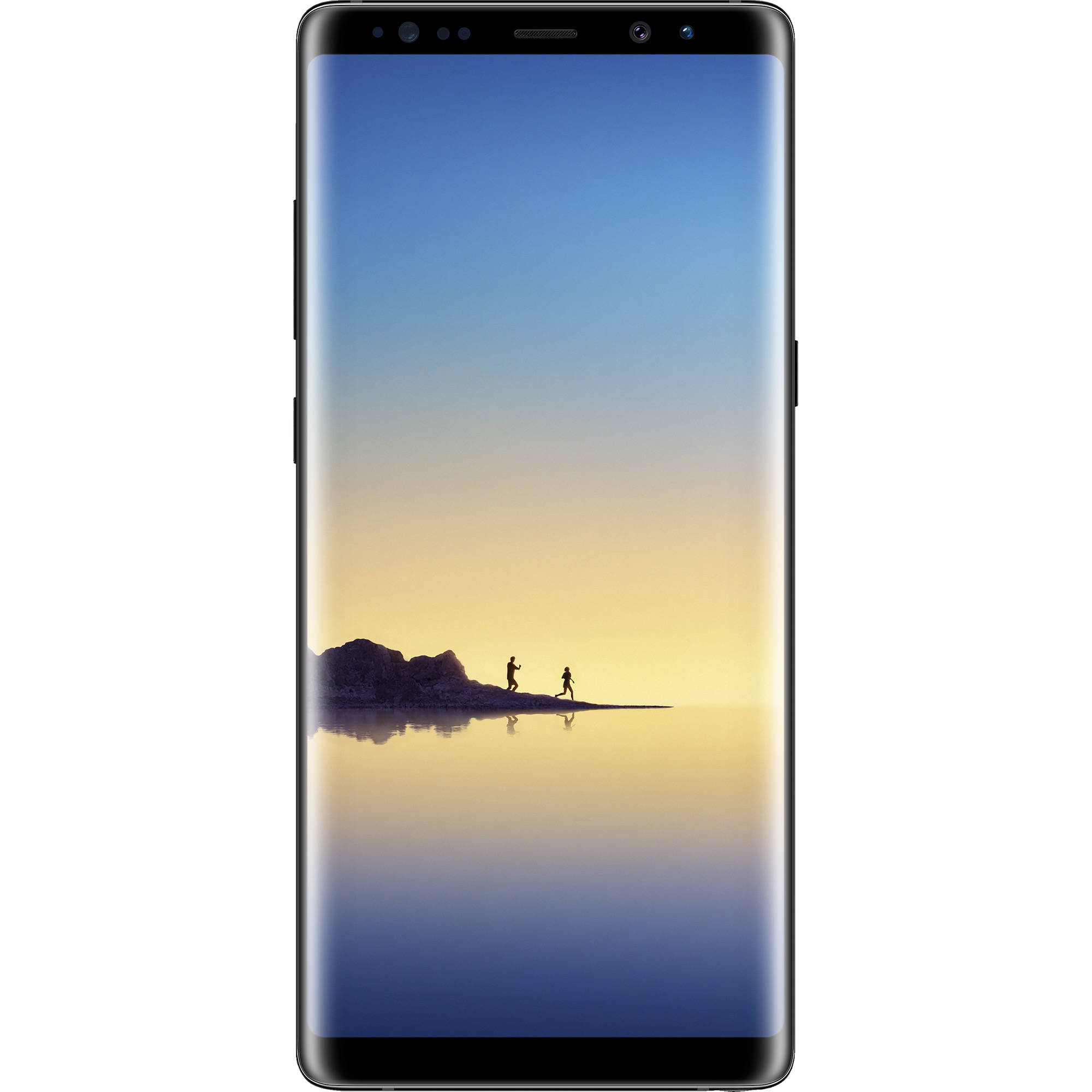 Simple Mobile SAMSUNG Note 8, 64GB Black - Prepaid Smartphone