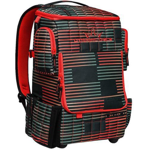 Dynamic Discs Ranger Backpack Disc Golf Bag - Stoke Red