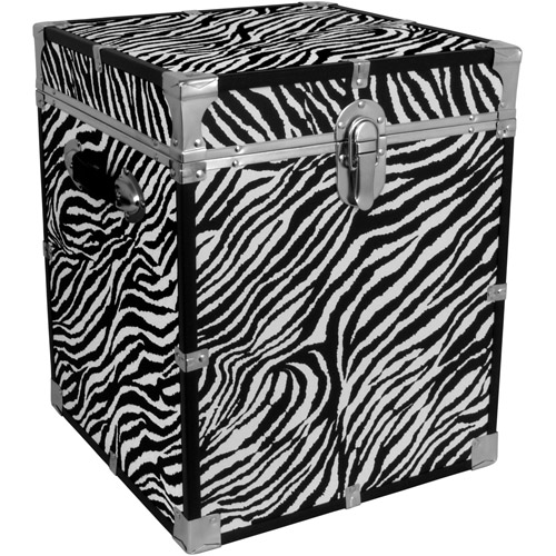 Mercury Luggage Seward Trunk Cube Storage Footlocker, 20""