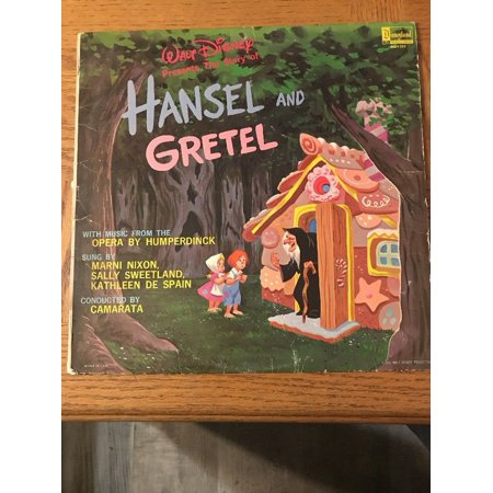 Walt Disney: Hansel And Gretel Album