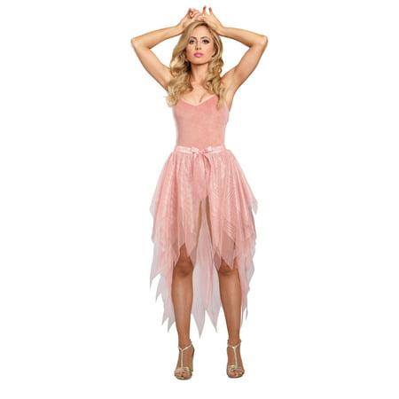 Sparkle Petticoat (Women's Sparkling Rose Gold Costume Tutu Skirt )