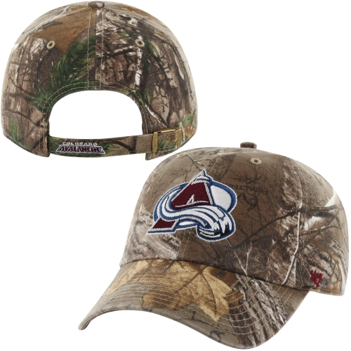 Colorado Avalanche '47 Brand Clean Up Adjustable Hat - Realtree Camo - OSFA