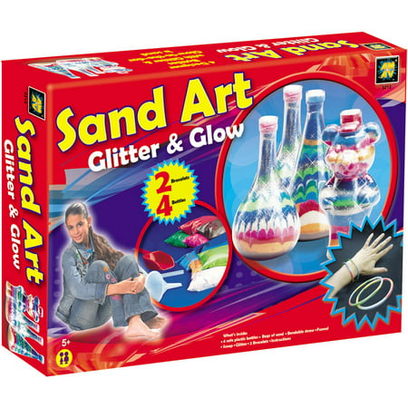 Sand Art Glitter and Glow (Sand Art Kit)