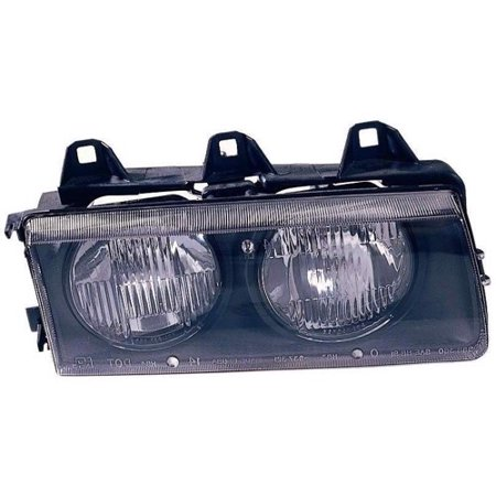 Go-Parts » 1992 - 1995 BMW 325i Front Headlight Headlamp Assembly Front Housing / Lens / Cover - Right (Passenger) Side 63 12 1 468 866 BM2503101 Replacement For BMW 325i