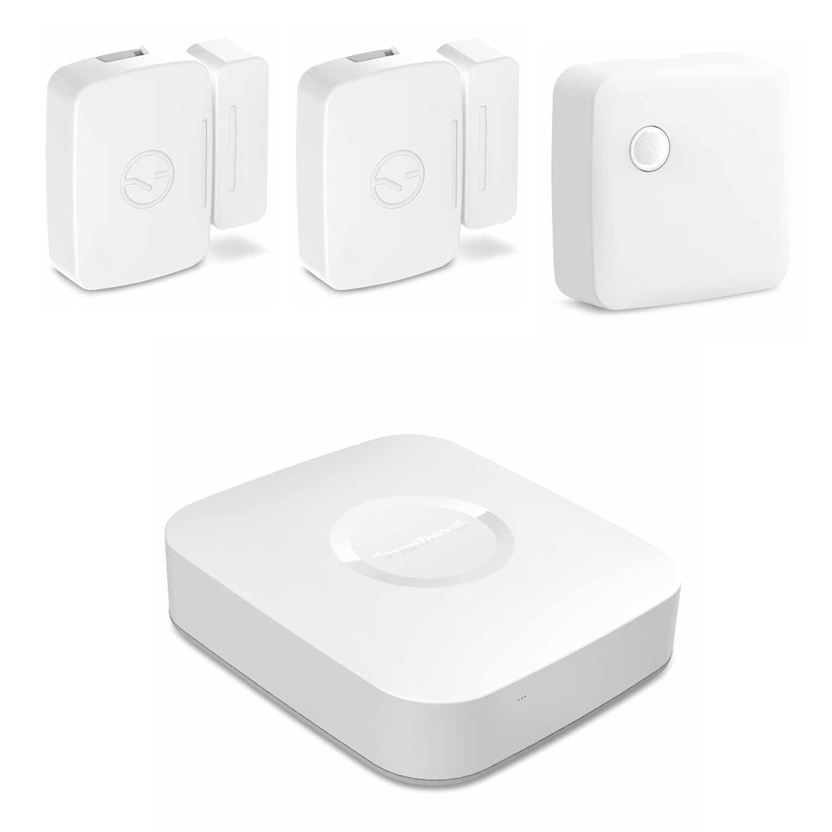 Samsung SmartThings Monitoring and Security Starter Bundle with Multipurpose Sensors, Motion Sensor, and Hub