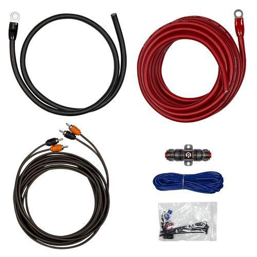 Raptor R3AK4 600W 4 AWG Amp Kit With RCA Cable