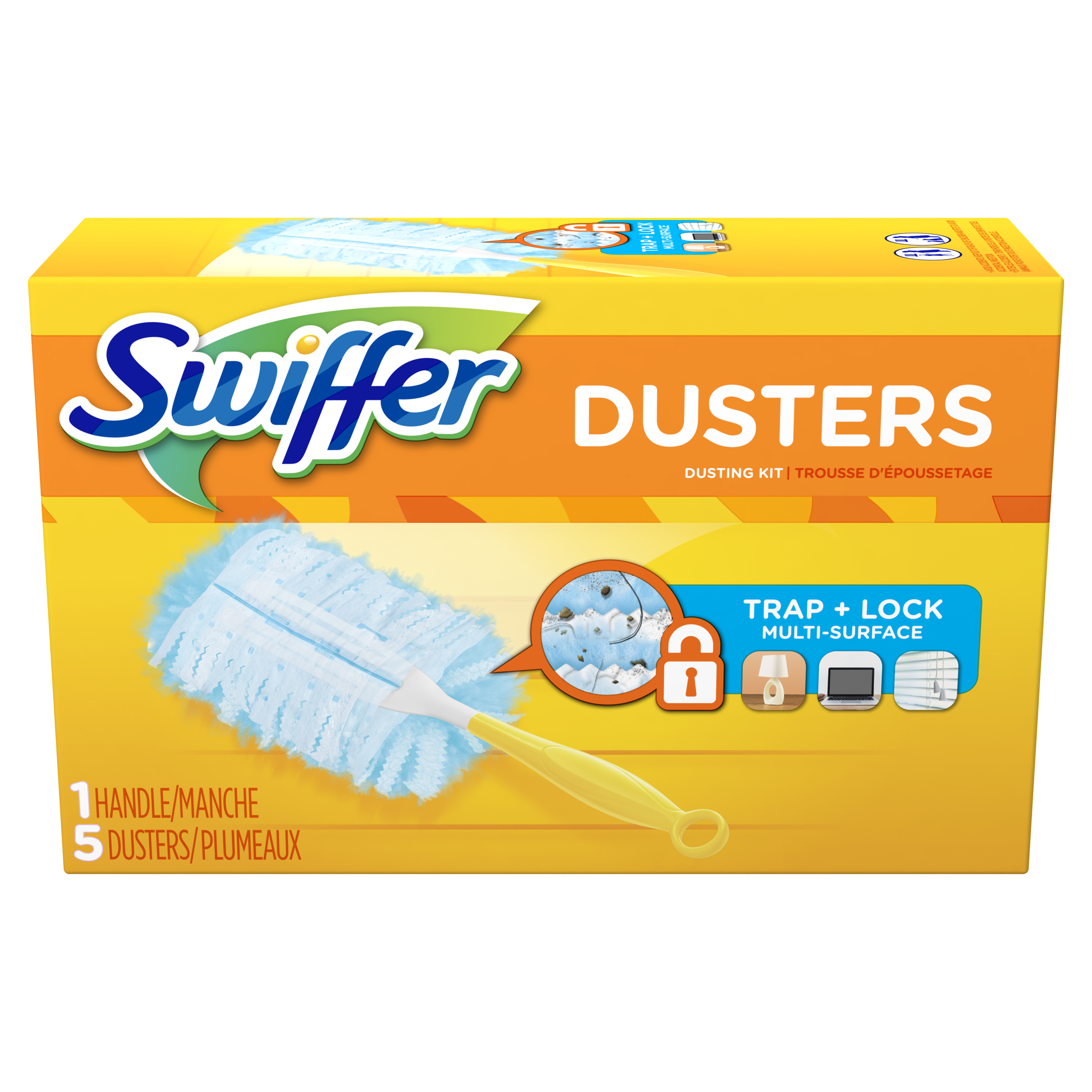 Swiffer 180 Dusters Starter Kit Unscented 5 Count Best