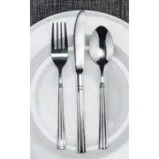 Winco Regency 3 Dozen Flatware Set, Extra Heavy 18-0 Stainless Steel Classic Old-Fashioned Dinner Spoons (Dozen Pack), Dinner Forks (Dozen Pack) and Dinner Knives (Dozen Pack), 36-Piece Set