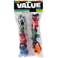 Party Favors 12/Pkg-Pull Back Construction Vehicles