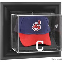 Cleveland Indians Fanatics Authentic Black Framed Wall-Mounted Logo Cap Display Case - No Size