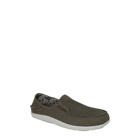 George Men's Casual Suede Slip-On Sneaker