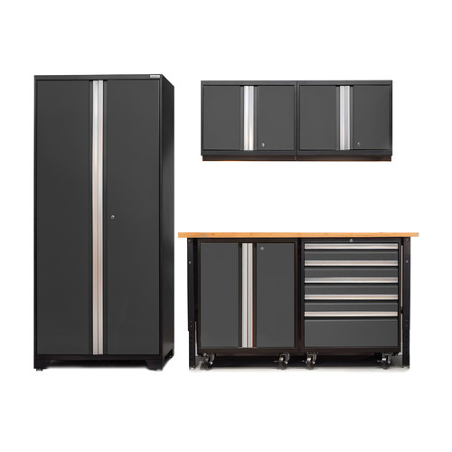 NewAge Products Pro 3.0 I 7 Piece Garage Cabinet System with Casters
